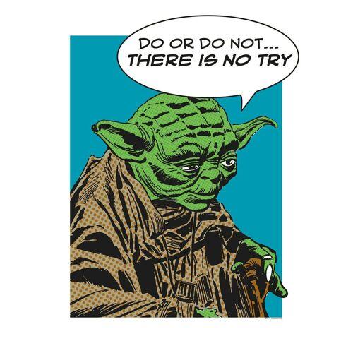 Komar Poster »Star Wars Classic Comic Quote Yoda«, Star Wars
