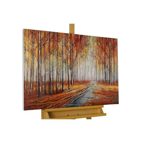 KUNSTLOFT Gemälde »Sehnsucht nach Herbst«, handgemaltes Bild auf Leinwand