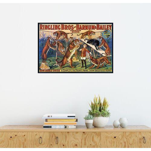 Posterlounge Wandbild, Circus Poster von 1920