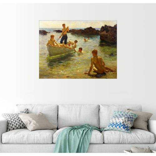 Posterlounge Wandbild, Morgendlicher Glanz