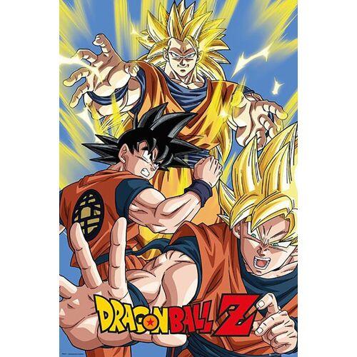 GB eye Poster »Dragon Ball Z - Goku - Maxi Poster«