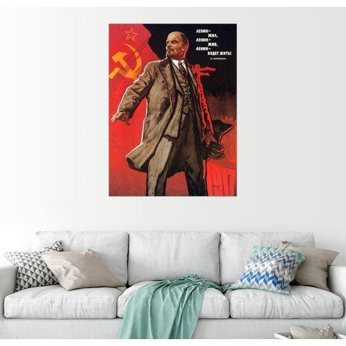 Posterlounge Wandbild, Communist Poster, 1967.