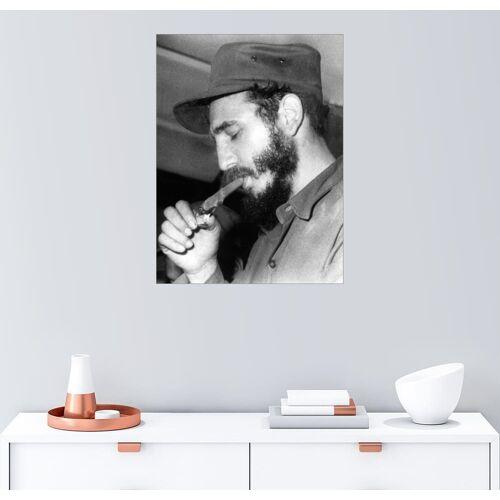 Posterlounge Wandbild, Fidel Castro