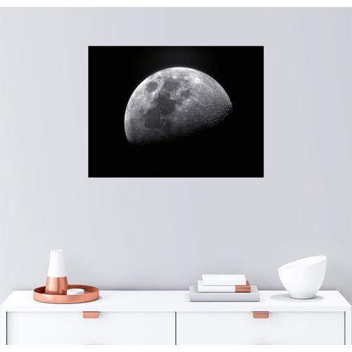 Posterlounge Wandbild, zunehmender Mond