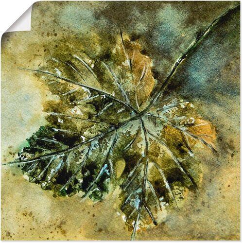 Artland Wandbild »Grünes Weinblatt«, Blätter (1 Stück)