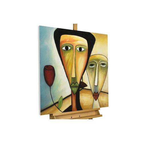 KUNSTLOFT Gemälde »Amorous Walk«, handgemaltes Bild auf Leinwand