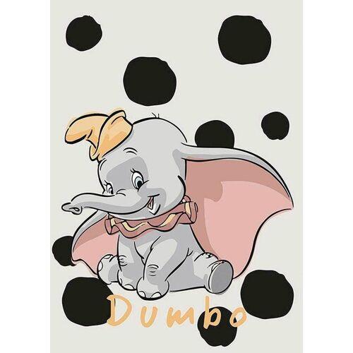 Komar XXL Poster »Dumbo Dots«, bunt
