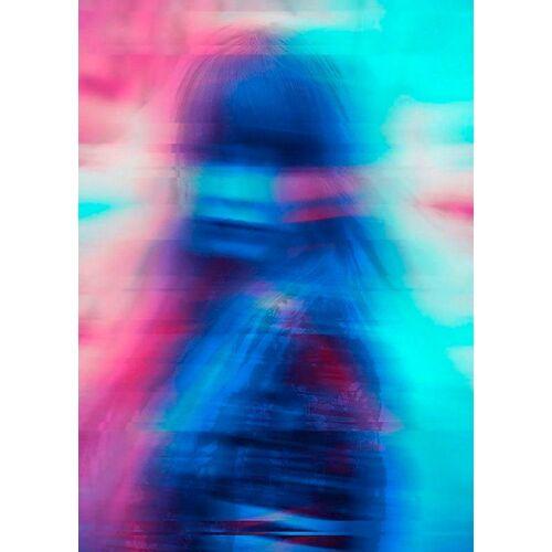 Komar XXL Poster »Neon Girl«, bunt