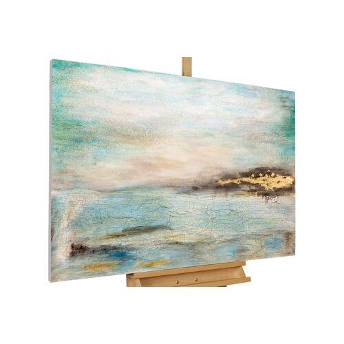 KUNSTLOFT Gemälde »Nuancen des Himmels«, handgemaltes Bild auf Leinwand