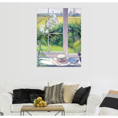 Posterlounge Wandbild, Leseecke im Fenster, Detail