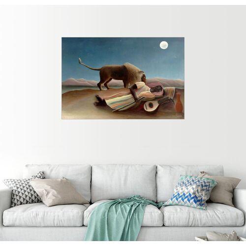 Posterlounge Wandbild, Die schlafende Zigeunerin