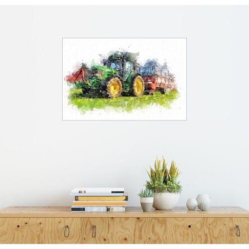Posterlounge Wandbild, Traktor