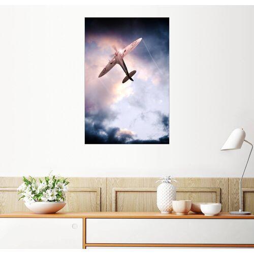 Posterlounge Wandbild, Spitfire, One of The Few