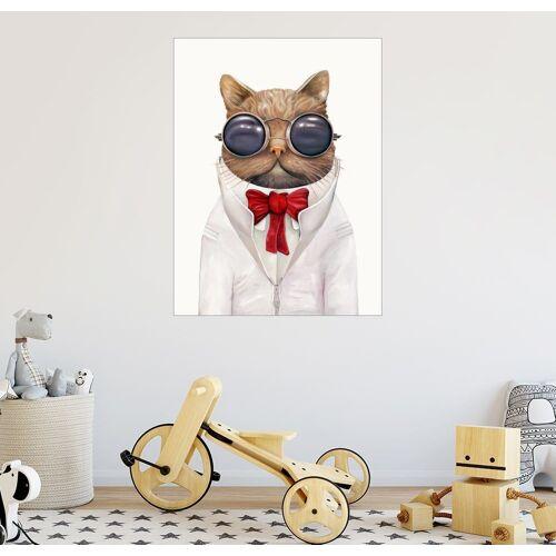 Posterlounge Wandbild, Astro Cat