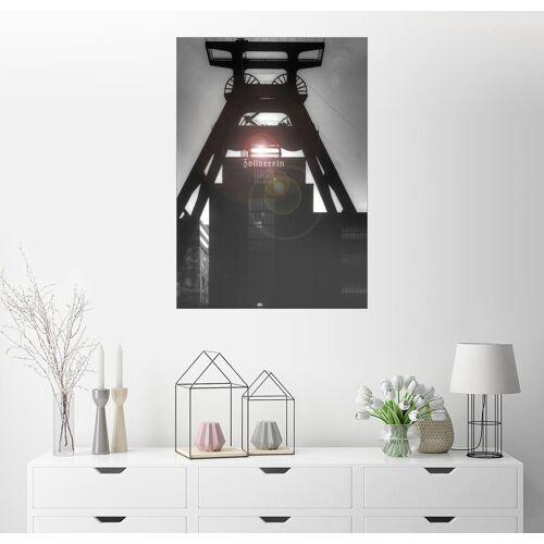 Posterlounge Wandbild, Doppelbock – Zeche Zollverein