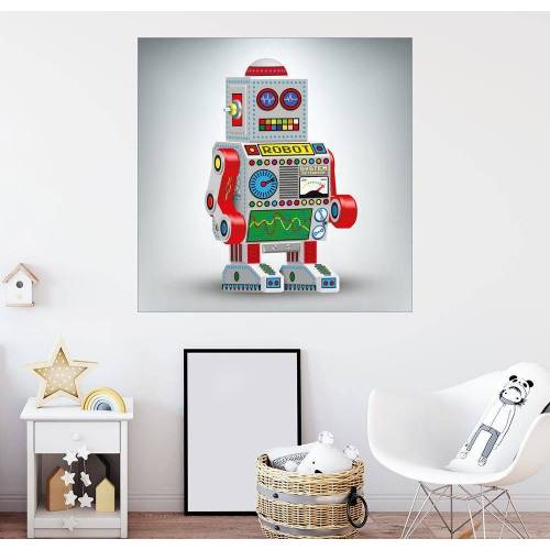 Posterlounge Wandbild, Roboter