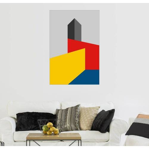 Posterlounge Wandbild, Bauhausturm
