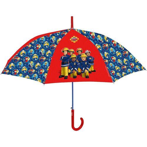 p:os Langregenschirm »Kinderschirm Cars«, blau/rot