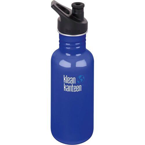 Klean Kanteen Trinkflasche, blau