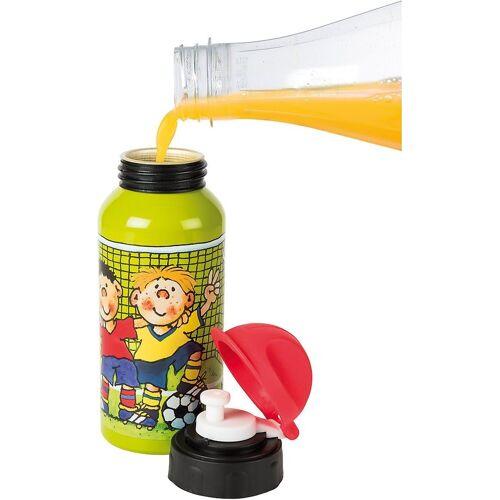 Lutz Mauder Verlag Trinkflasche »Trinkflasche Fritz Flanke, 400 ml«, grün