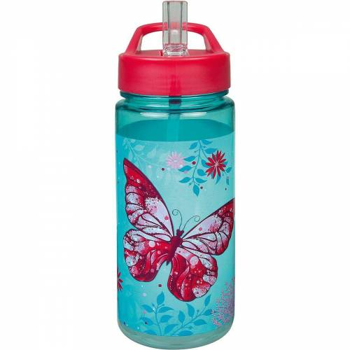 Scooli Trinkflasche »Aero Sport-Trinkflasche Spider-Man, 500 ml«, türkis/pink