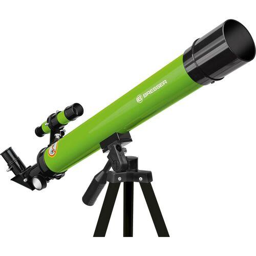 BRESSER Teleskop »Linsenteleskop 45/600 AZ Grün«