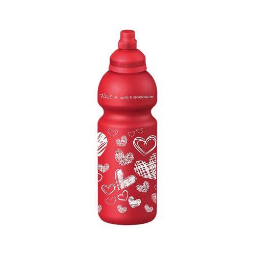Fizzii Trinkflasche »Trinkflasche Online, 600 ml«, rot