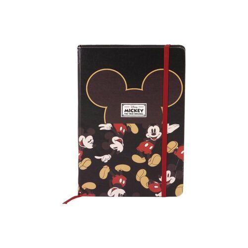 Tagebuch mit Verschlussgummi A5 MICKEY MOUSE