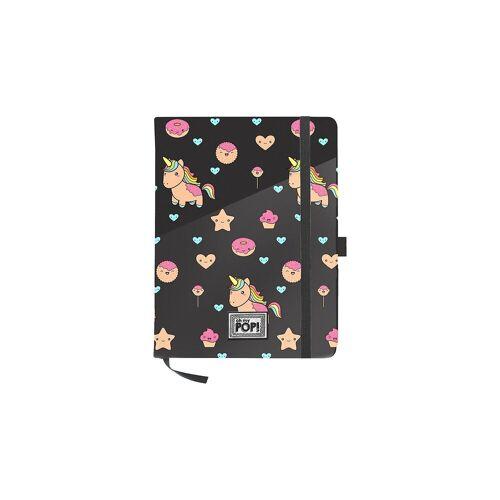 Tagebuch mit Verschlussgummi A5 POPNICORN