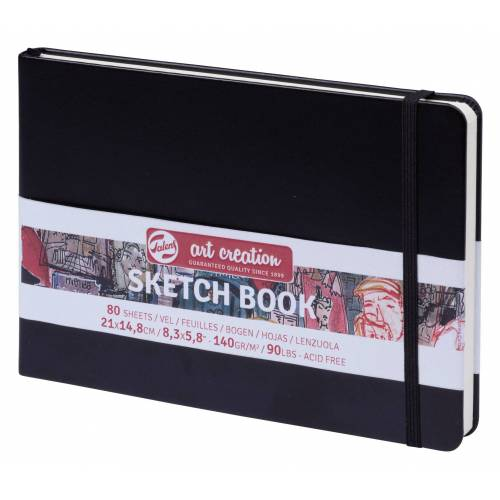 "Talens Skizzenbuch ""Sketch Book"" 80 Blatt"
