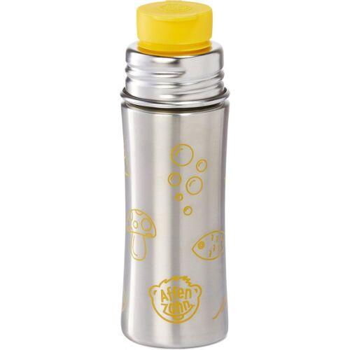 Affenzahn Trinkflasche »Edelstahl Trinkflasche Gelb, 330 ml«, gelb
