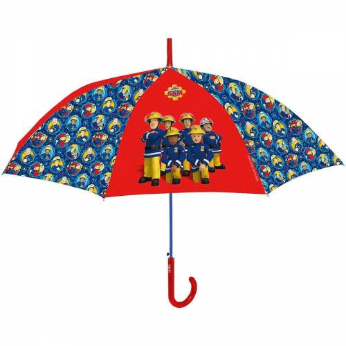 p:os Langregenschirm »Kinderschirm Einhorn, 42/8«, blau/rot