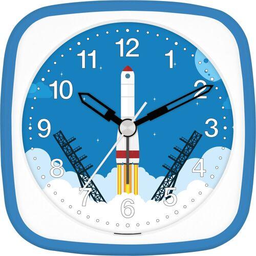 EUROTIME Kinderwecker »Rakete blau, 27136-08«