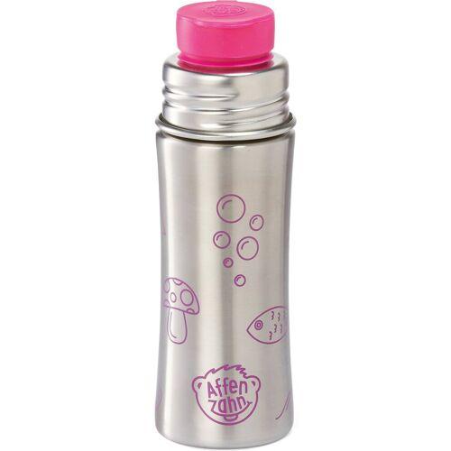 Affenzahn Trinkflasche »Edelstahl Trinkflasche Gelb, 330 ml«, pink