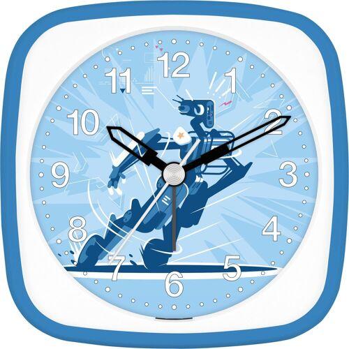 EUROTIME Kinderwecker »Roboter blau, 27130-08«