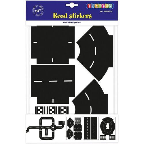 Playbox Sticker »Sticker Kurven & Kreuzungen, 50 Stück«