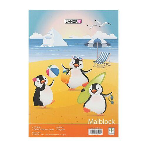 LANDRE Malblock 100050434, weiß