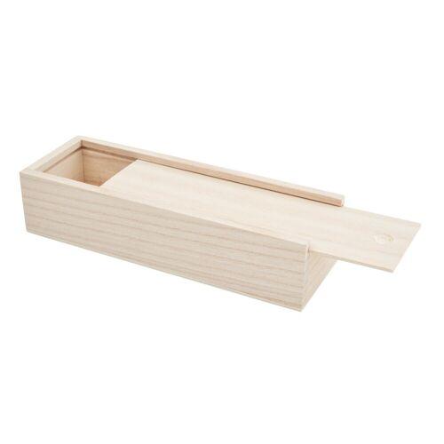 VBS Aufbewahrungsbox, Rohholz, (2-tlg), für Stifte, 2 Teile