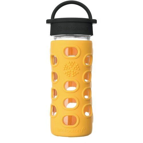 Lifefactory Trinkflasche, gelb