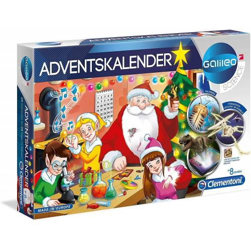 Clementoni® Spiel, »Galileo Science - Adventskalender«