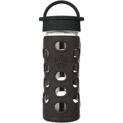 Lifefactory Trinkflasche, schwarz