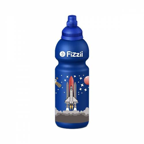 Fizzii Trinkflasche »Trinkflasche Dino kiwi, 600 ml«, blau