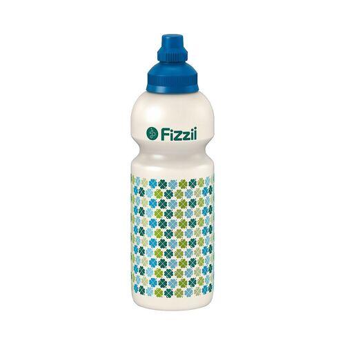 Fizzii Trinkflasche, grün/weiß