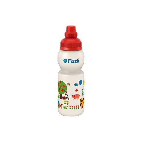 Fizzii Trinkflasche »Trinkflasche Eisenbahn byGraziela, 330 ml«, bunt