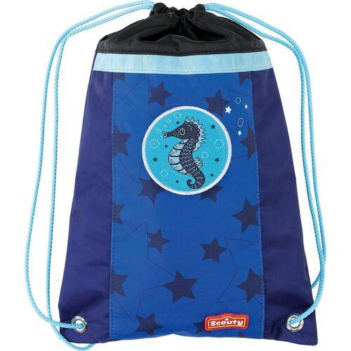 Scouty Turnbeutel »Sportbeutel SPORTY Ocean«, blau