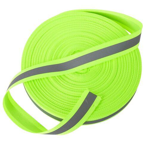 VBS Großhandelspackung Fahrradreflektor »Reflektorband«, Neongelb 50 m, 20 mm