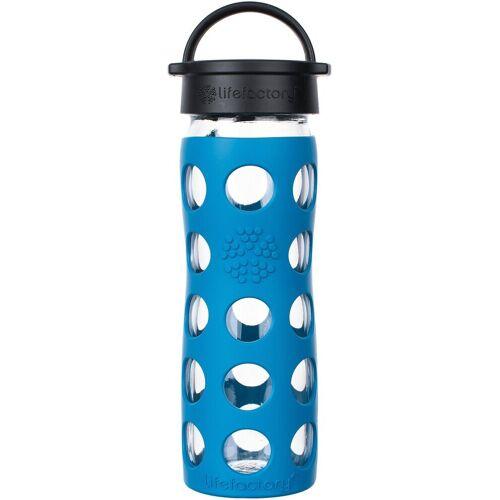 Lifefactory Trinkflasche, blau