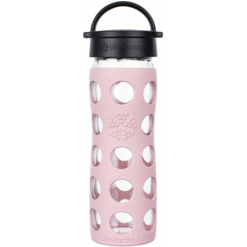 Lifefactory Trinkflasche, rosa