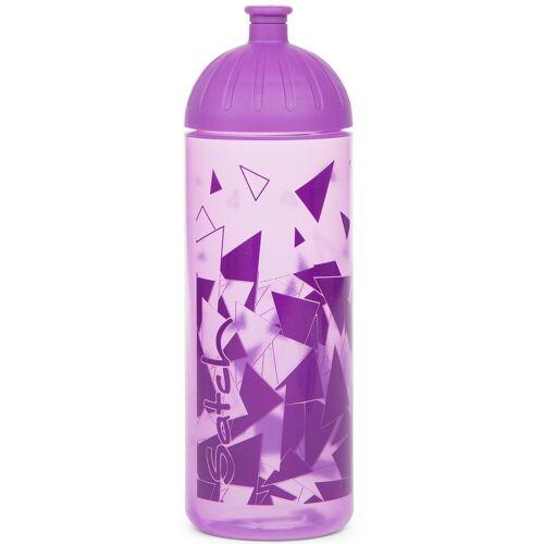 Satch Trinkflasche »pack«, Kunststoff, trinkflasche lila lila
