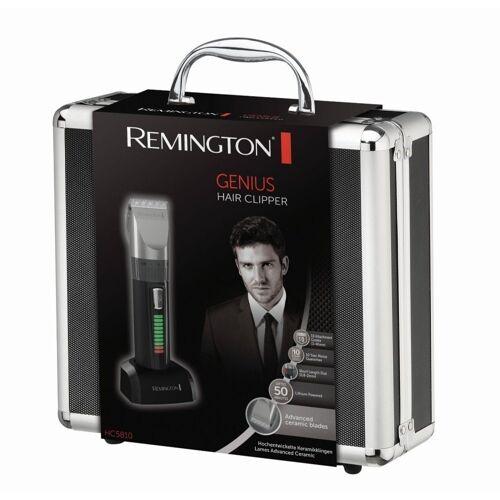 Remington Haarschneider HC5810 Schwarz-Silber Haarschneider Keramik-Schneidesystem Koffer